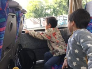 バスより高いモチベーション